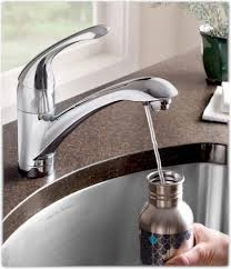 kitchen faucet with built in water filter american standard single lever kitchen filter faucet w