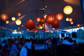Backyard Wedding Lighting by Beautiful Blooms Rustic Backyard Wedding Celebration Lanterns