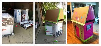diy cardboard playouse 2 embe