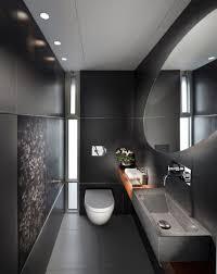 modern bathroom lighting ideas dark khaki futuristic shower wall