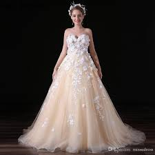 new design ball gown wedding dress 2017 bridal gown sweetheart