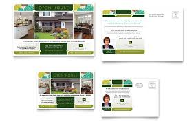 real estate postcard template word u0026 publisher