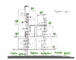 house diagrams gallery of stacking house hsuyuan kuo architect u0026 associates 33