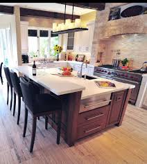 kitchen island with granite top and breakfast bar awesome standard height of kitchen island with breakfast bar that
