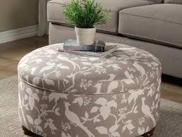 ottoman white fabric storage ottoman fabric chair and ottoman