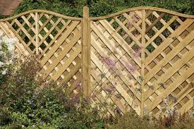 Curved Trellis Fence Panels Fencing