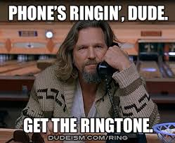 The Dude Meme - ringtones dudeism