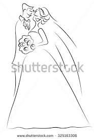 married couple cartoon vector stock vector 231740278
