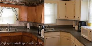 cabinet trim kitchen sink kitchen cabinets updated with paint trim my repurposed