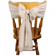 chair sash polyester chair sash
