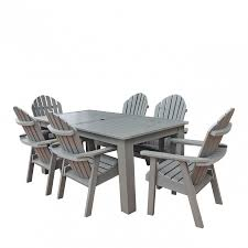 Newport Wicker Patio Furniture Hamilton 7pc Rectangular Dining Set Outdoor Furniture Patio
