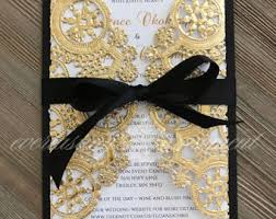wedding invitations gold coast wedding invitations etsy