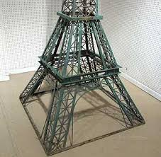 eiffel tower table a 10 foot model of eiffel tower auction finds