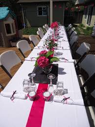fuschia pink table cloth 92 best pink and black wedding ideas images on pinterest pink