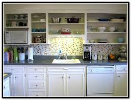 Kitchen Cabinets No Doors Kitchen Cabinets Without Doors Home Design Ideas Regarding Kitchen