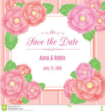 wedding card design template free download save the date floral wedding invitation with briar roses design