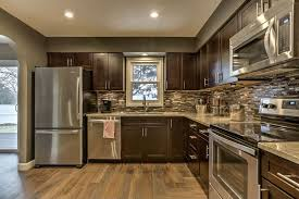 Premier Kitchen Cabinets Craftsman Kitchen With Undermount Sink U0026 Flat Panel Cabinets In