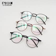 blue light prescription glasses anti blue light clear lens pk7215 optical women man eyeglasses