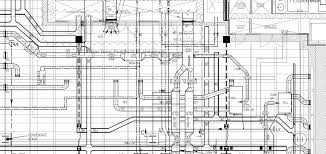 building services coordinated drawing mechanical systems drawing