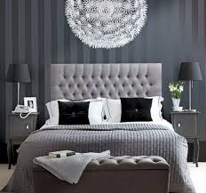 grey bedroom with big light fitting home ideas pinterest