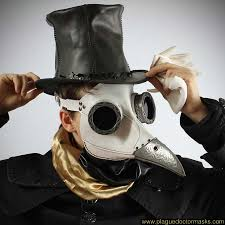 steampunk halloween costume white steampunk plague doctor mask for sale costume cosplay