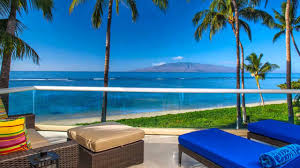 Beachfront Cottage Rental by Lahaina Baby Beach Oceanfront House Luxury Vacation Rental Maui