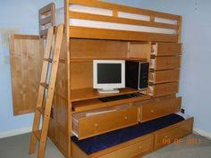 Loft Bed With Desk And Trundle Best Loft - Trundle bunk bed with desk