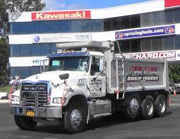 this dump truck dragster hauls more than just gravel medium duty