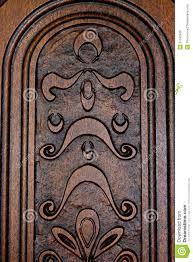 fragment brown wooden door royalty free stock image image 31542926