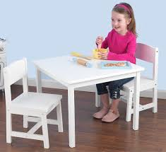 Desk And Chair For Kids by Astounding White Wooden Kids Table And Chairs 94 For Office Desk