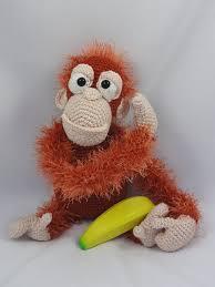 etsy crochet pattern amigurumi amigurumi crochet pattern oscar the orangutan by ildikko on etsy