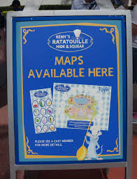 Hunt Maps A Look At Remy U0027s Hide And Squeak Scavenger Hunt Touringplans Com