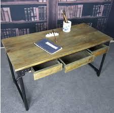 bureau fer forgé antique américaine en fer forgé bois bureau bureau d ordinateur