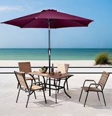 Patio Umbrella Tables Patio Table Covers With Umbrella Foter