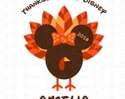 disney thanksgiving etsy