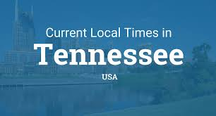 Tennessee Time Zone Map by Current Local Time In Tennessee United States