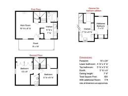 two story cabin plans small 2 story cottage plans ideas home decorationing