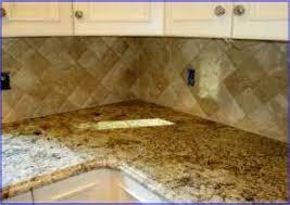 Travertine Backsplash Tiles by Tumbled Travertine Tile Backsplash Kitchen 7 Kitchen Travertine