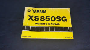 yamaha owners manual yamaha xs850sg motorcycle owners manual