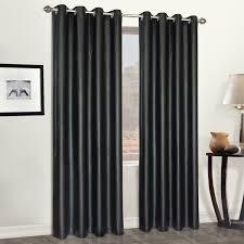 amazon com united curtain faux leather heavy window curtain panel