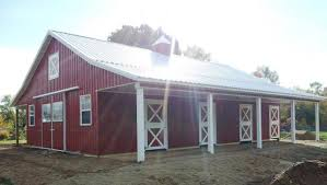How To Build A Pole Barn Shed by How To Save Money When Building A Pole Barn