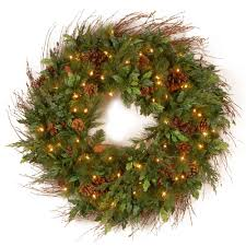 home decorative collection national tree company decorative collection juniper mix pine 30 in