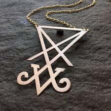 arcana light bringer sigil of lucifer necklace satan occult