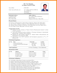 Sample Pharmaceutical Resume B Pharmacy Resume Resume For Your Job Application