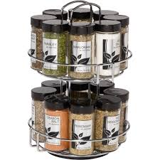 Black And White Kitchen Canisters Spice Racks Walmart Com