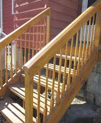 Access Stairs Design Pine Access Stairs With Colonial Balusters By Great Lakes Stair