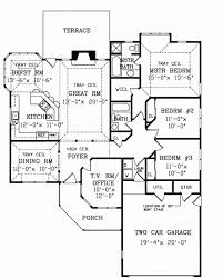 One Floor House Plan Incredible 100 1 Story Floor Plan Home Design Architecture 1 Story