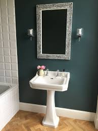 farrow and bathroom ideas farrow inchyra blue on walls karndean light oak parquet