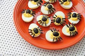 spider eggs aka dressed up deviled eggs make it and love it