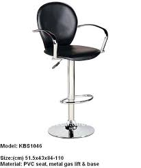 Bar Stool With Backrest Swivel Bar Stools With Armrest Swivel Bar Stools With Armrest
